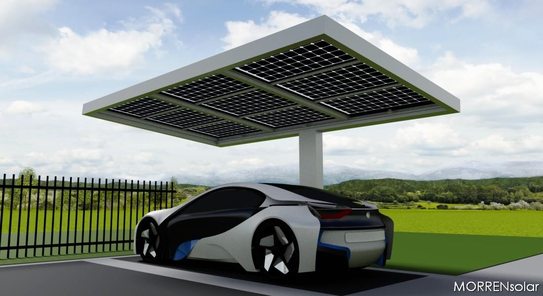 MORRENsolar - uw maatwerk fabrikant van constructies met zonnepanelen