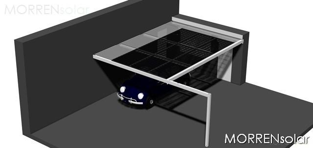 MORRENsolar - Vergunningen carport met zonnepanelen